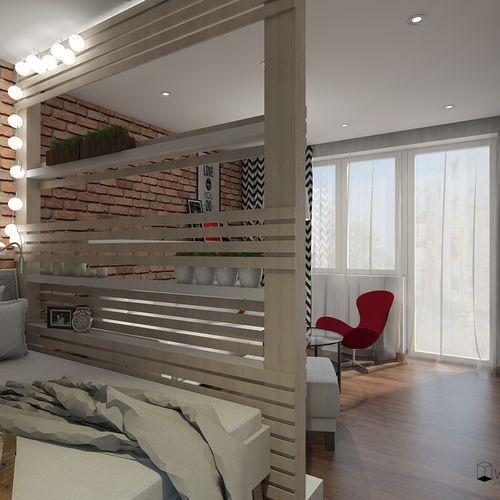 Suwałki, pokój dzienny z sypialnią 16m2