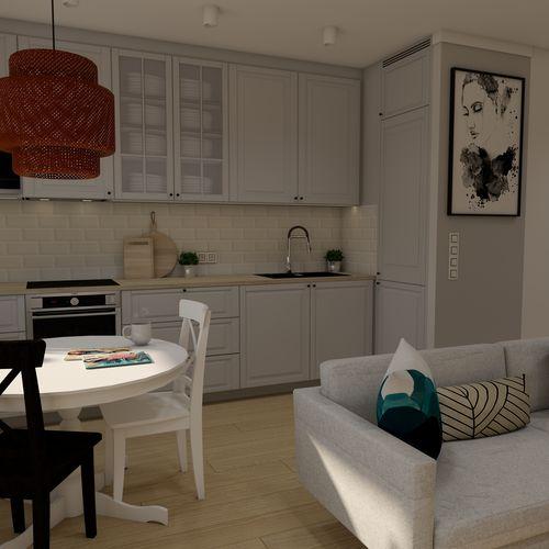 Projekt mieszkania Warszawa Ursus