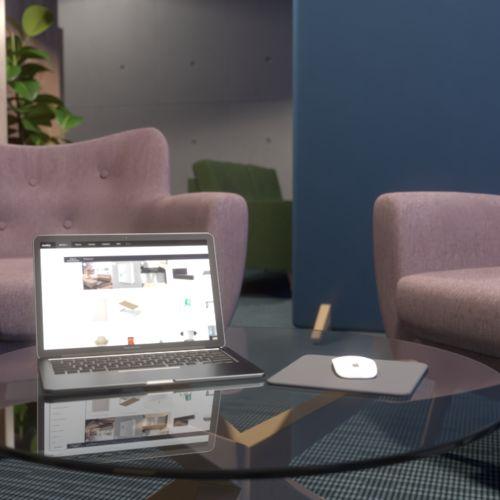Komfortowa przestrzeń biurowa | Complet Furniture, Kinnarps, Labra, Ferro