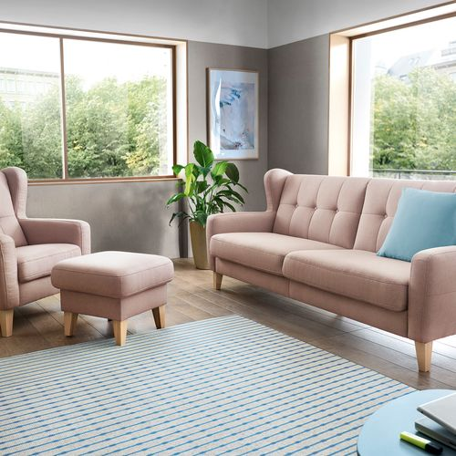 Sofa, armchair and pouffee Arno (Sweet Sit)