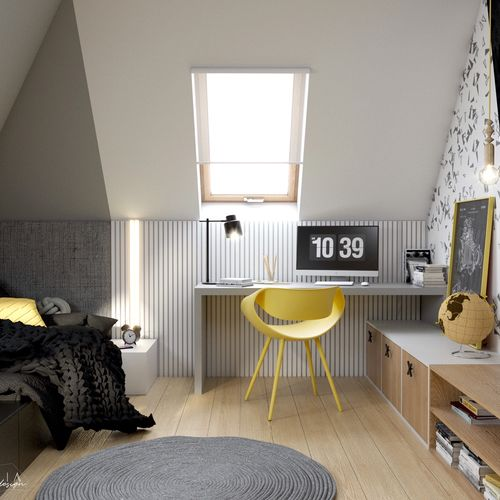 Pokój dla nastolatka - dom Andrychów