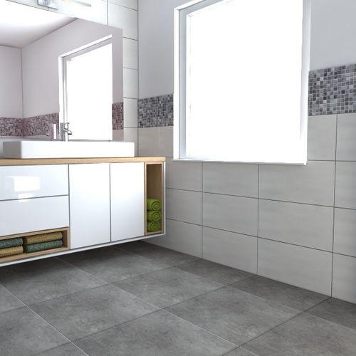 Projekt łazienki z mozaiką