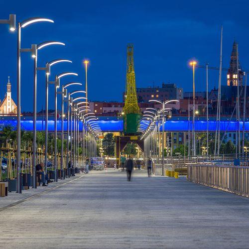 Boulevard, Szczecin, Poland