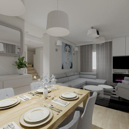Projekt mieszkania Warszawa Włochy