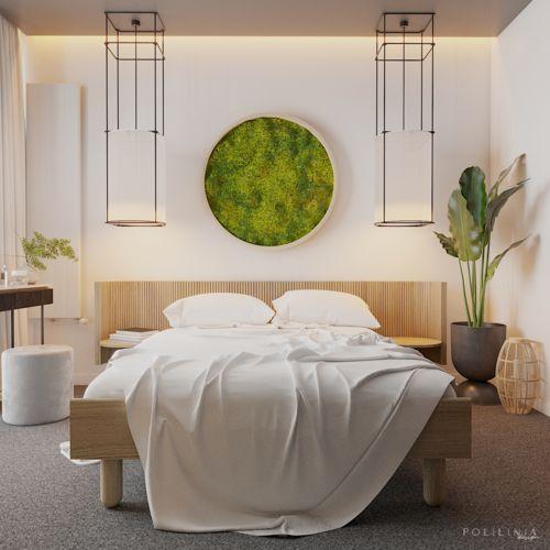 Master bedroom w naturalnych klimatach