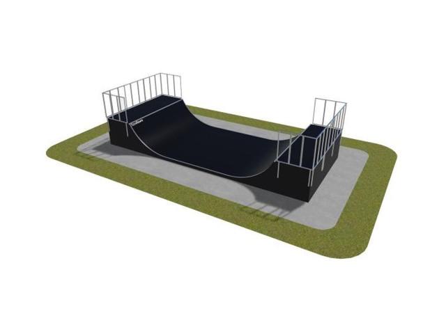 Skatepark, Skatepark modułowy nr 470115, Grupa Techramps