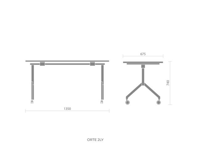 Desks, ORTE OT 2L Y, Bejot