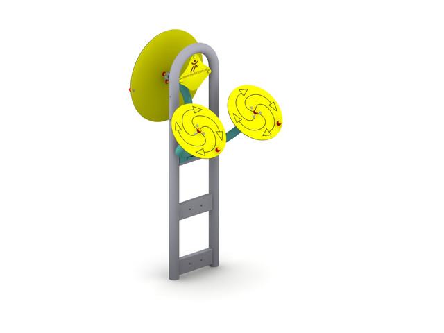 Outdoor gyms, Tai Chi Discs 3, Müller Jelcz-Laskowice Sp. z o.o