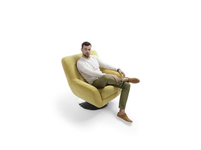 Fotele, Fotel Boss, Gala Collezione