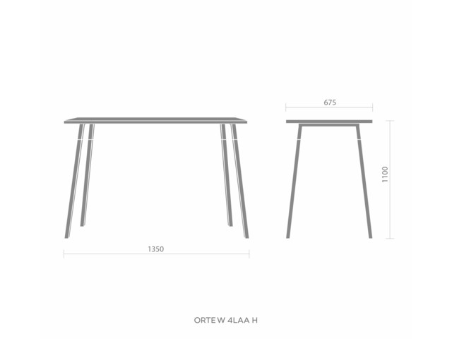 Tables, ORTE WOOD 4L AA H, Bejot
