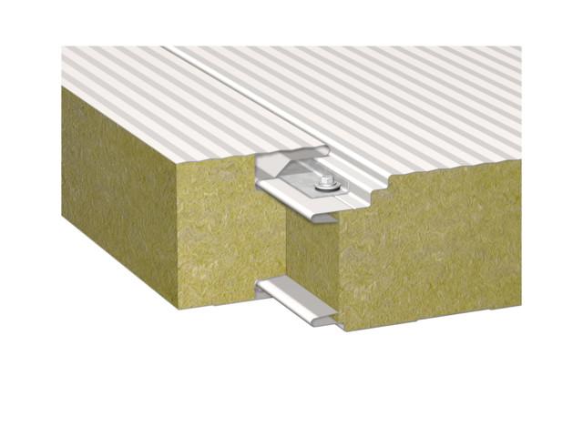 Sandwich panels, BALEXTHERM-MW-W-PLUS, Balex Metal