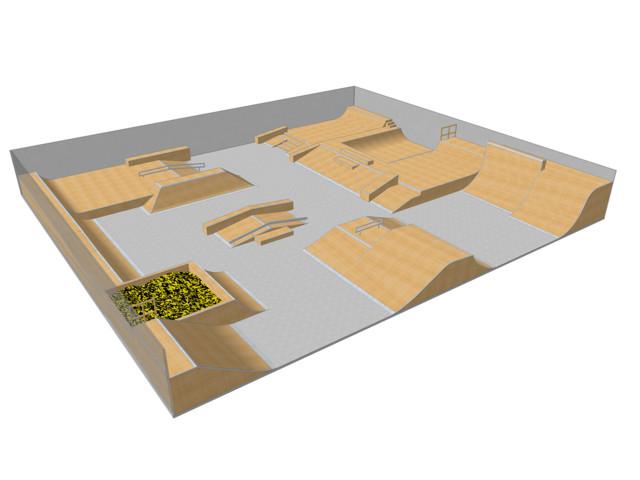 Skatepark, Skatepark 012150, Grupa Techramps