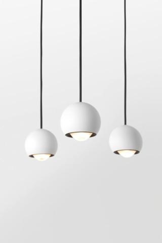 Systemy oświetleniowe, Marbulito Modupoint łaczony / podwieszany, Modular Lighting Instruments