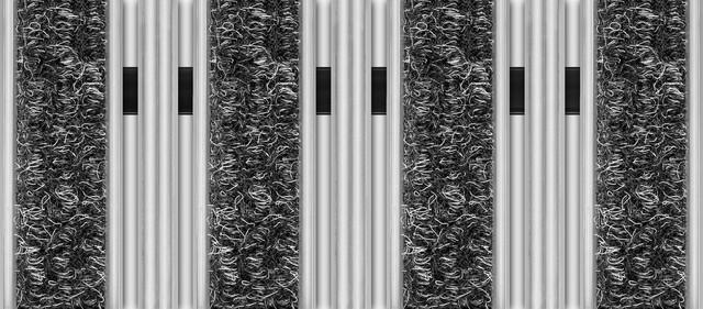 Wycieraczki i Maty, Wycieraczka obiektowa, osuszająca-czyszcząca Unimat V 22 KT, Unimat