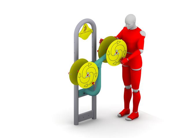 Outdoor gyms, Tai Chi Discs 4, Müller Jelcz-Laskowice Sp. z o.o