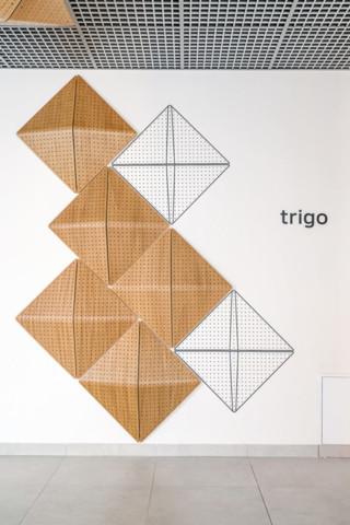 Panele ścienne, Panel ścienny i sufitowy 3D – Trigo, BESTER STUDIO