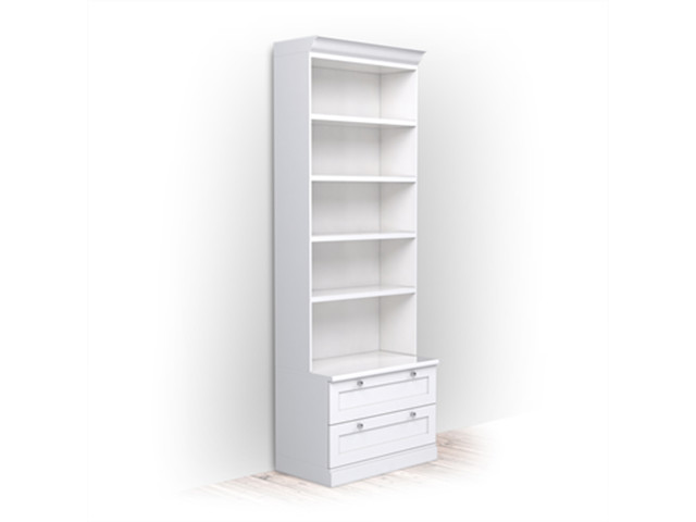 Bookcases and Shelving Units, Bookcase 48x80x240 - classic line, ELEN Sp. z o.o.