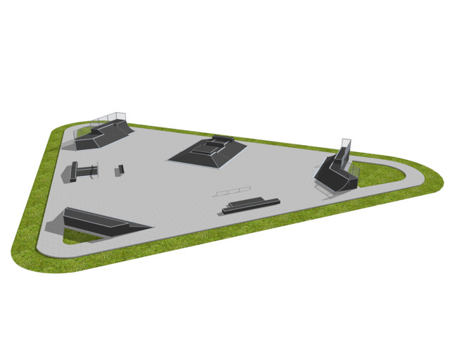 Skatepark, Skatepark 091218, Grupa Techramps