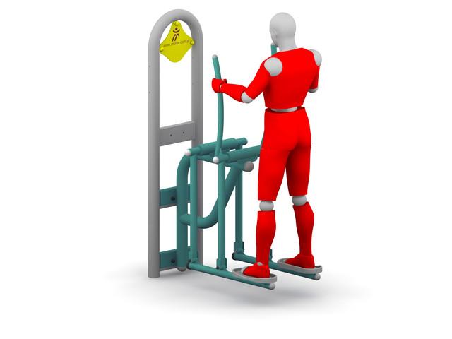 Outdoor gyms, Cross-Country Ski Machine, Müller Jelcz-Laskowice Sp. z o.o