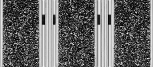 Wycieraczki i Maty, Wycieraczka obiektowa, osuszająca-czyszcząca Unimat V 22 KT/P Prestige, Unimat