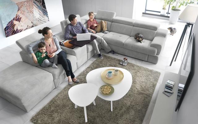 Modular system Belluno / corner sofa | MD-GCBESMB | Gala ...