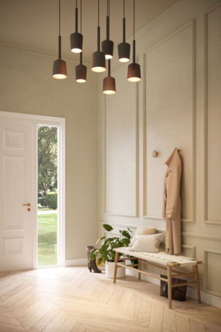 Hanging Lamps, Tulip, Modular Lighting Instruments