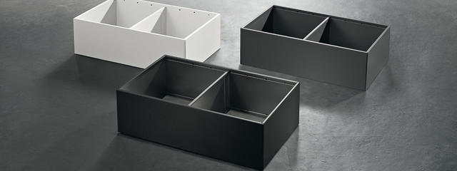 Furniture accessories, AMBIA-LINE for LEGRABOXin steel design, Blum