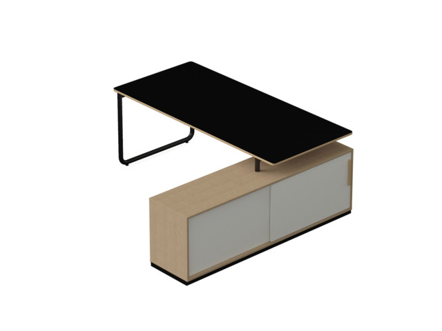 Desks, Desk to be joined to a sideboard, Nowy Styl