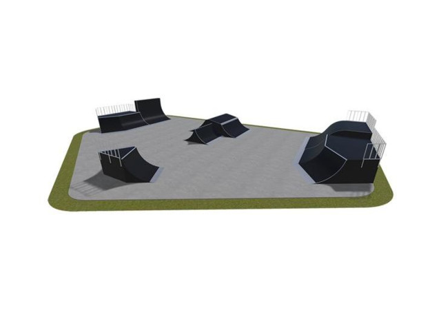 Skatepark, Skatepark modułowy nr 550115, Grupa Techramps