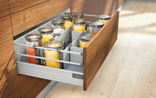 Furniture accessories, ORGA-LINE for TANDEMBOX high fronted pull-outs, Blum