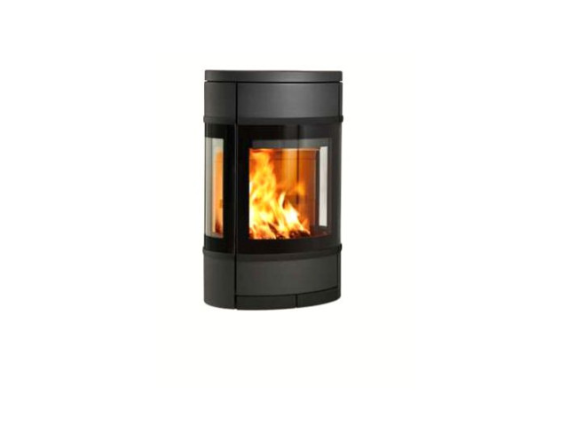 Freestanding Stoves, Scan 68 - wall with side windows, Scan