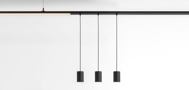 Track Systems Lamps, Pista Smart surface tubed, Modular Lighting Instruments