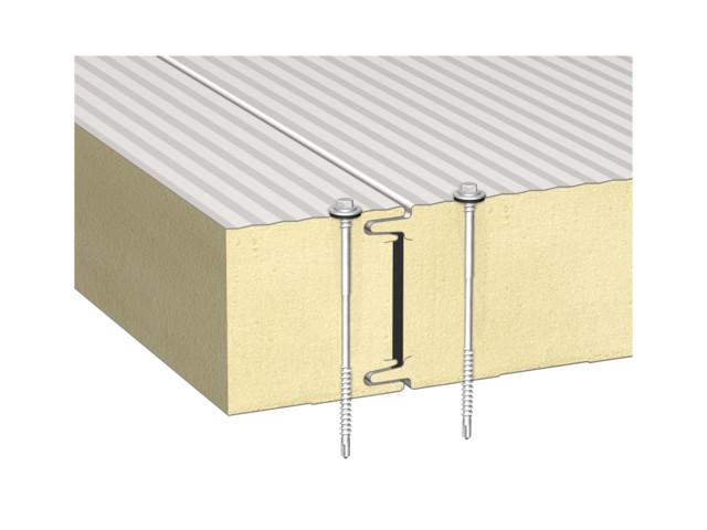 Sandwich panels, BALEXTHERM-PU-W-ST, Balex Metal