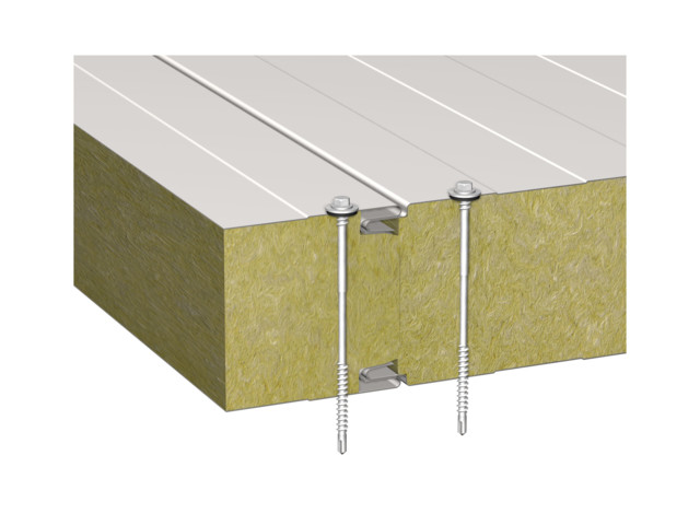 Sandwich panels, BALEXTHERM-MW-W-ST, Balex Metal