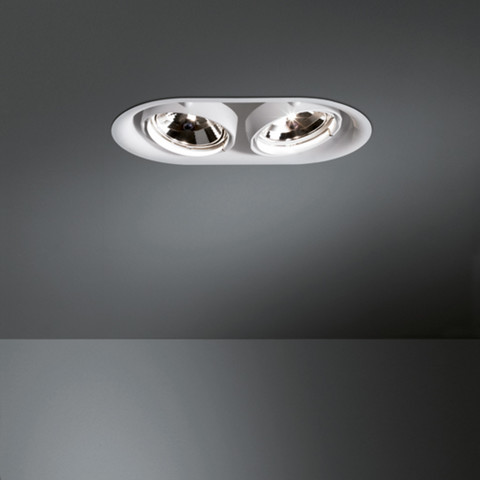 Recessed Lamps, Thub metal, Modular Lighting Instruments