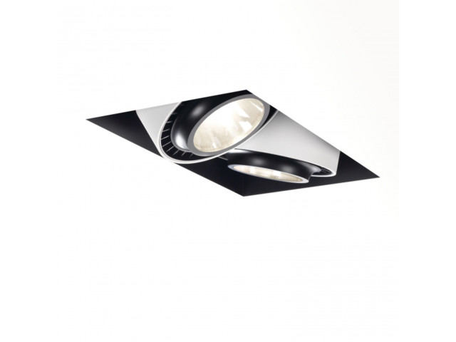 Recessed Lamps, GRID IN TRIMLESS 2 OPTO 20 83015, Delta Light