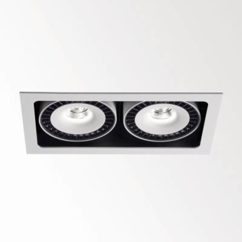 Recessed Lamps, GRID IN 2 REO 20, Delta Light