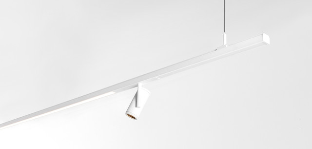Track Lighting Systems, Pista Medard 42, Modular Lighting Instruments