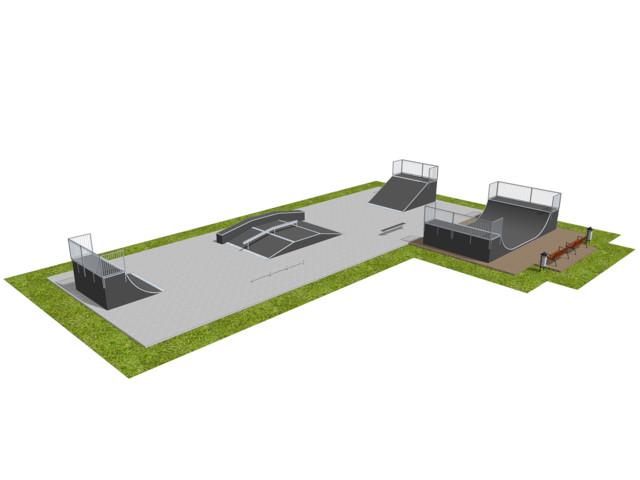 Skatepark, Skatepark 012157, Grupa Techramps