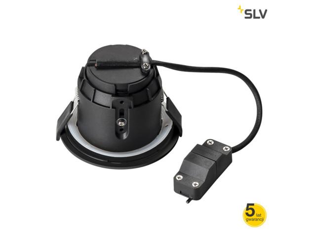 Lampy wpuszczane, DARCO GU10 czarna, SLV Poland