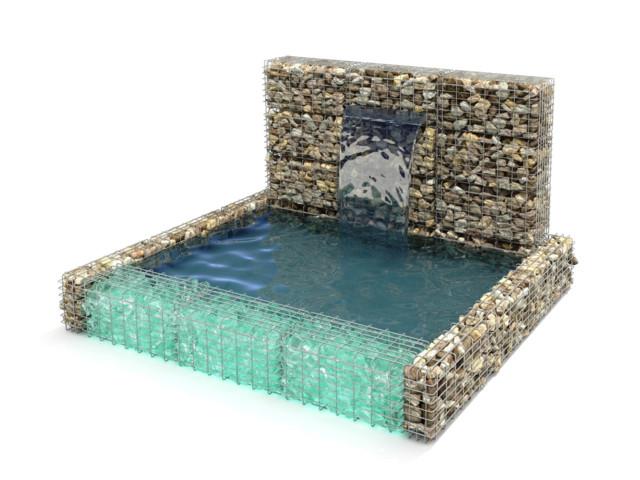 Fountains, miniGABIONS - FOUNTAIN, Progress Eco