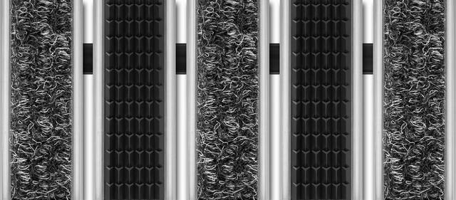 Wycieraczki i Maty, Wycieraczka obiektowa, systemowa, osuszająca-czyszcząca Unimat V 22 RT, Unimat