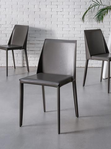 Chairs, PADOVA  TAUPE  CHAIR, KLER SA