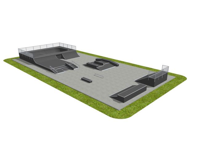 Skatepark, Skatepark 111218, Grupa Techramps