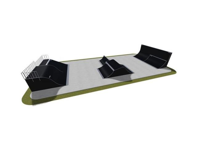 Skatepark, Skatepark modułowy nr 510115, Grupa Techramps