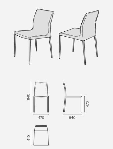 Krzesła, KRZESŁO  MALGA, KLER SA