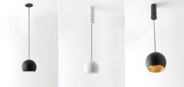Hanging Lamps, Smart ball, Modular Lighting Instruments