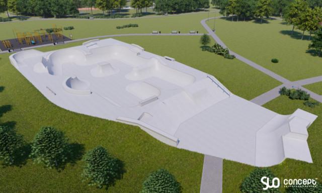 Skatepark in Słomniki
