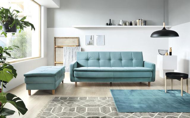Sofa i taboret Snap