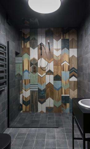 """Projekt łazienki Alicja Galewska """"Wnętrza""""."""